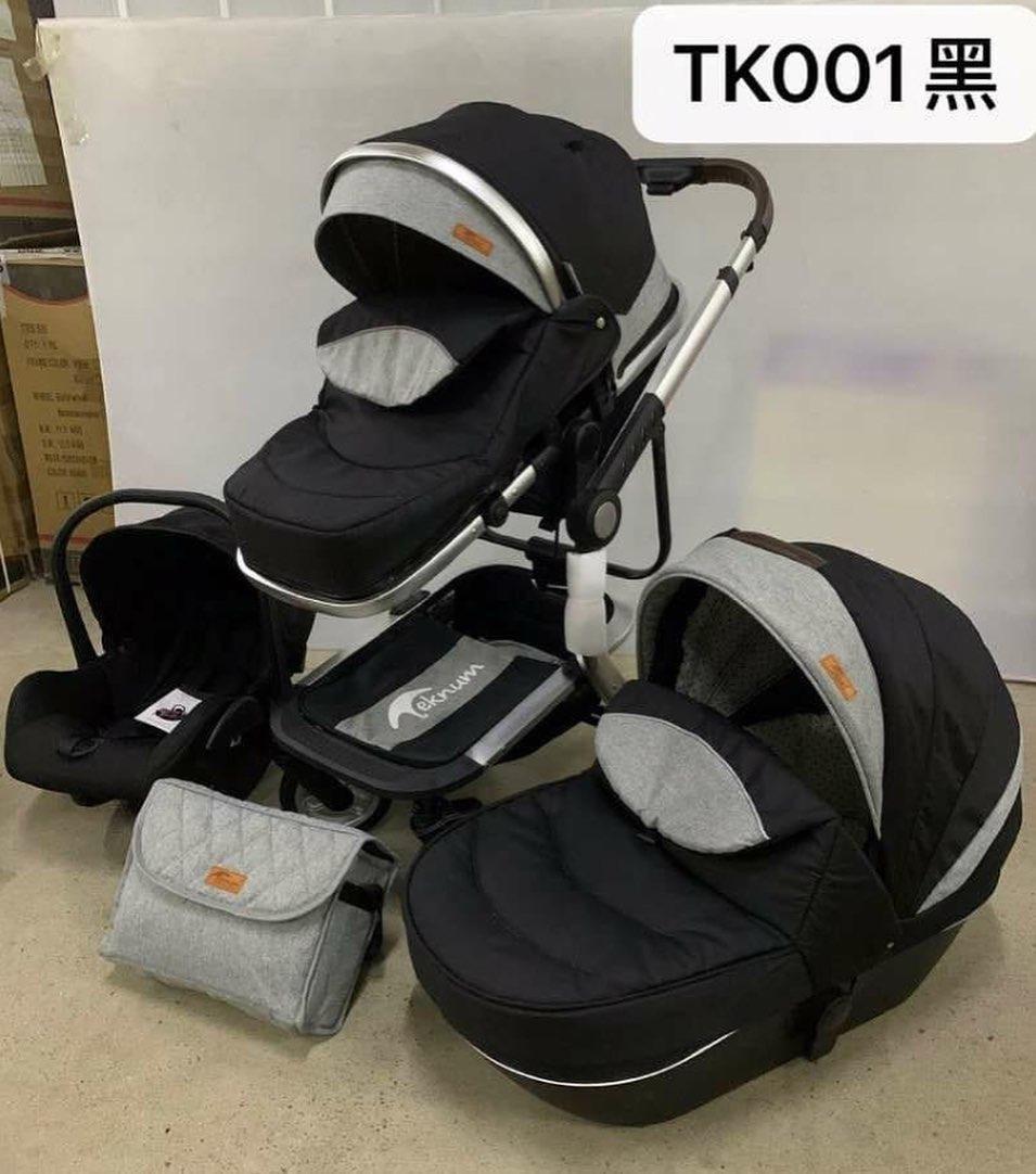 Коляска 3в1 Teknum tk 001 grey