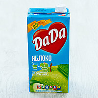 Сок DADA яблоко без сахара 2 л