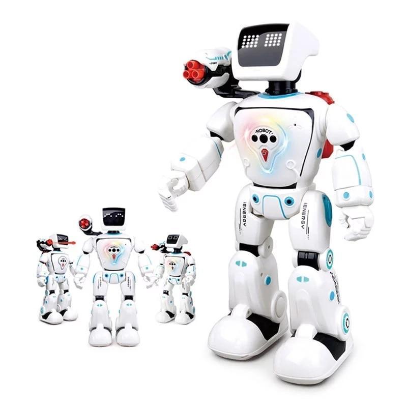 🤖 Робот управление пультом, Большой шагающий Гидро робот, Русский интерактивный, стреляющий, говорящий собака