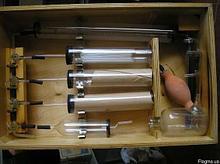 Газоанализатор  КГА-1-1 (ТУ92-891.006-90), бюретка