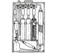Газоанализатор  КГА-2-1 (ТУ92-891.006-90), бюретка