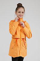 Детский для девочек осенний оранжевый плащ Lona 6310И горчица 134-64р.