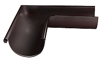 Угол желоба внешний 90 гр 125 мм RAL Коричневый