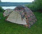 Палатка походная с козырьком 3х местная (200*200*135см), фото 2