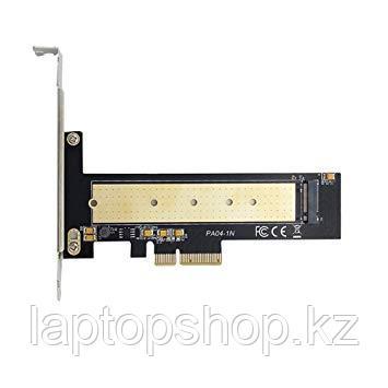 Адаптер M.2 PCIe NVMe or PCIe AHCI SSD to PCIe 3.0 x4 Adapter Card