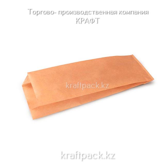 Пакет крафт с плоским дном (Doner M) 90*40*260 (2500шт/уп)