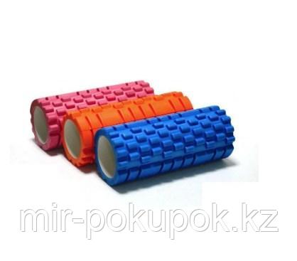 Массажный гимнастический валик (цилиндр) 33 см - фото 2