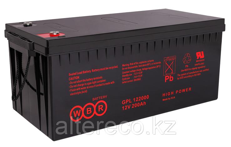 Аккумулятор WBR GPL122000 (12В, 200Ач), фото 2