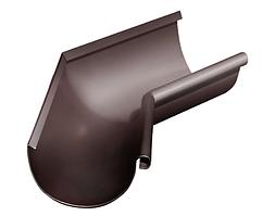 Угол желоба внутренний 135 гр 125 мм RAL 8017 Коричневый