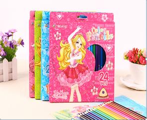 Цветные карандаши 24 штук
