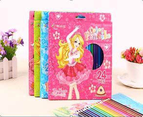 """Цветные карандаши """"Barbie"""""""