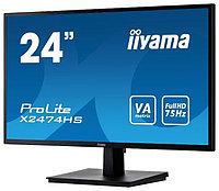 Монитор Iiyama X2474HS-B, 2 LCD 23.6'' [16:9] 1920х1080(FHD), фото 1