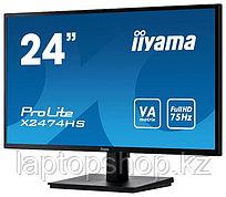 Монитор Iiyama X2474HS-B, 2LCD 23.6'' [16:9] 1920х1080(FHD)