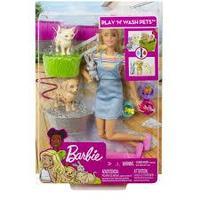 Barbie® Игровой набор «Кукла и домашние питомцы