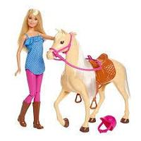 Barbie® и лошадь
