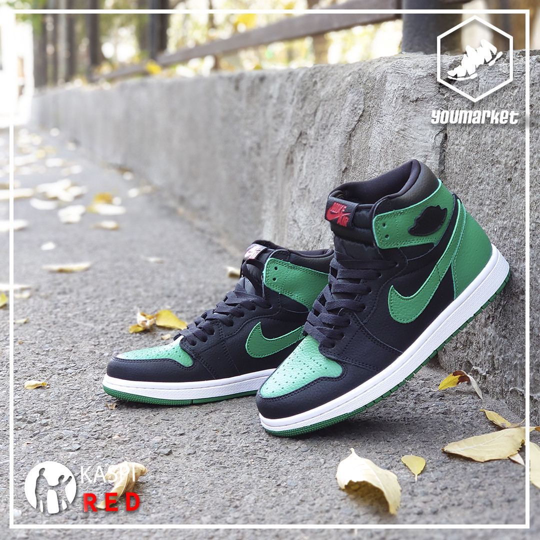 Kроссовки Nike Air Jordan 1 Retro Black\Green
