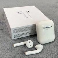 Беспроводные наушники Apple AirPods 2 (LUX Реплика) White / Black, фото 1