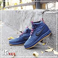 Зимние кроссовки Nike Lunar Force 1 Blue