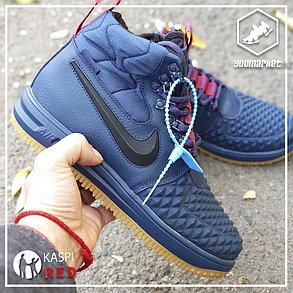 Зимние кроссовки Nike Lunar Force 1 Blue, фото 2