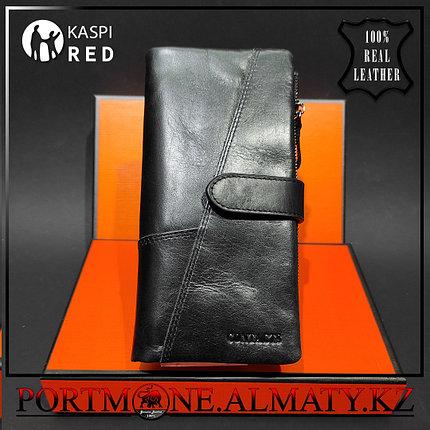 Клатч, кошелек, портмоне, бумажник Contacts натуральная кожа 100 %, фото 2