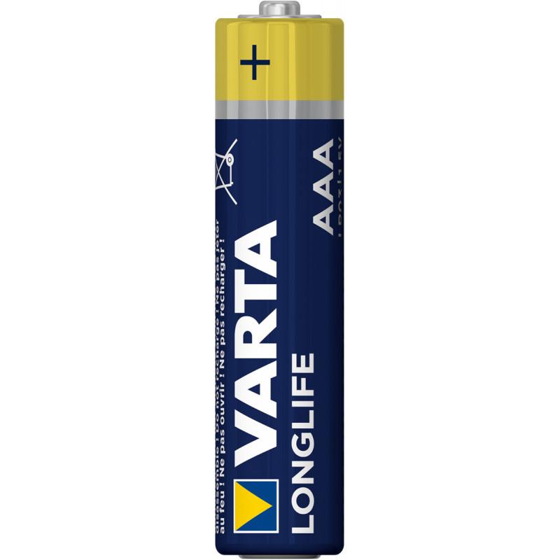 VARTA AAA Longlife  ( Мезинчиковая )
