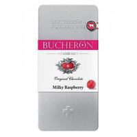 Bucheron шоколад молочный, малина, 100 гр