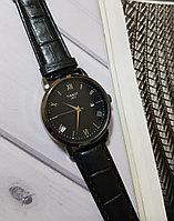 Часы наручные TISSOT черный ремешок, фото 1