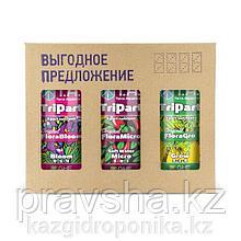 TriPart Set 1л (Комплект удобрений TriPart/Flora Series для мягкой воды 1л)