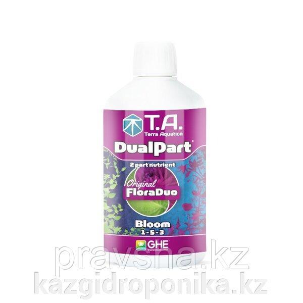 Удобрение DualPart Bloom/FloraDuo Bloom GHE 0,5 L