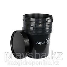 Емкость с крышкой AquaPot 30 л Black, 5 шт/уп