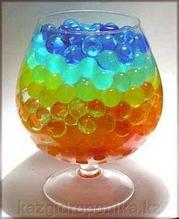 Гидрогель цветной (аквагрунт, шарики орбис)