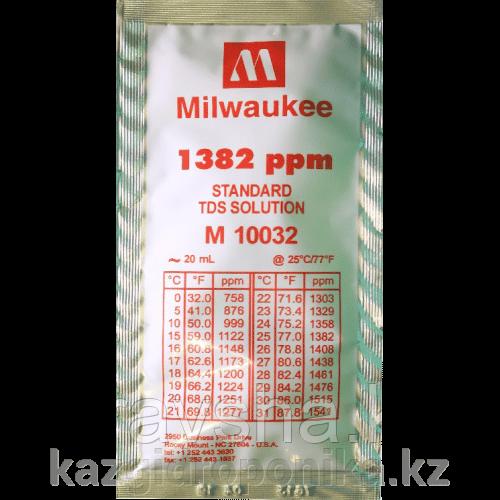 Раствор для калибровки TDS и EC метров  20 мл 1382 ppm Milwaukee