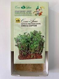 Набор семян для микрозелени: капуста листовая Кале