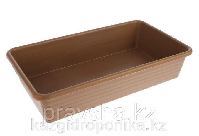 Ящик для рассады, 45 х 25 х 10 см, 8,5 л, терракотовый