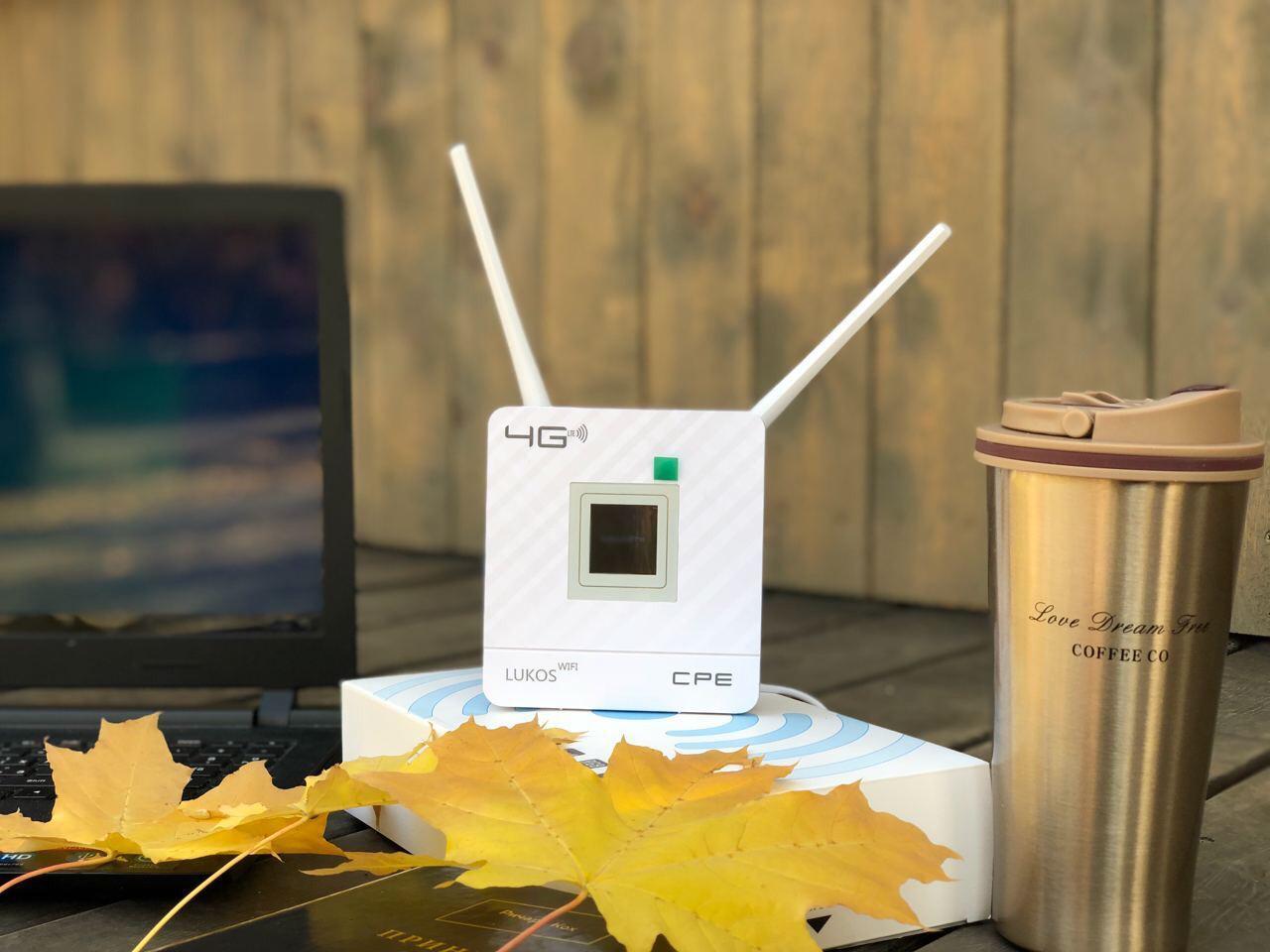 Беспроводной 4G LTE WiFi Модем Роутер CPF903 Алтел Актив Билайн Теле2 - фото 2