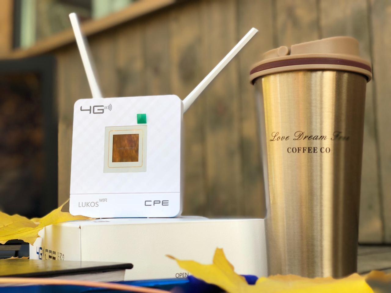 Беспроводной 4G LTE WiFi Модем Роутер CPF903 Алтел Актив Билайн Теле2 - фото 1