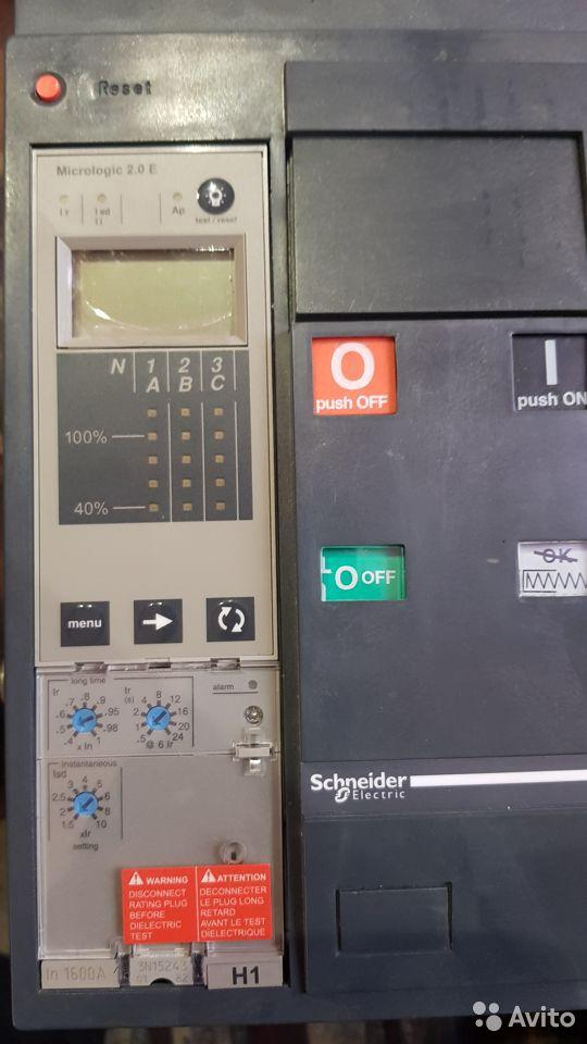 Автоматические выкл Schneider Masterpact NT1600А
