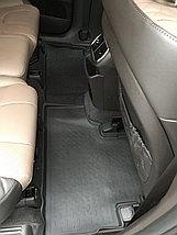 Резиновые коврики с высоким бортом для Hyundai Santa Fe IV 2018-н.в., фото 3