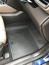 Резиновые коврики с высоким бортом для Hyundai Santa Fe IV 2018-н.в., фото 2