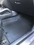 Резиновые коврики с высоким бортом для Hyundai Accent 2010-2016, фото 3