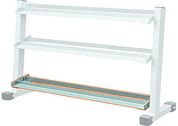 Стойка для гантелей -4 (dumbbell rack-4' attachment)