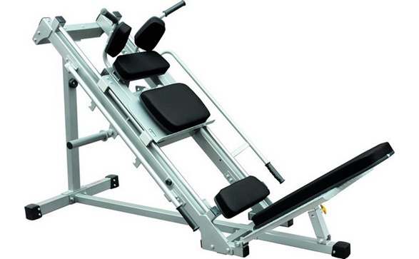Гак машина (leg press/hack squat machine)
