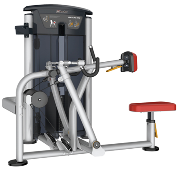 Тренажер Гребная тяга с упором (Vertical row)
