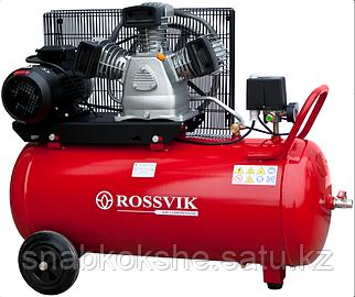 Компрессор поршневой ROSSVIK СБ4/С-100.LB30А, 420л/мин, 10бар, ресивер 100л, 220В/2,2кВт