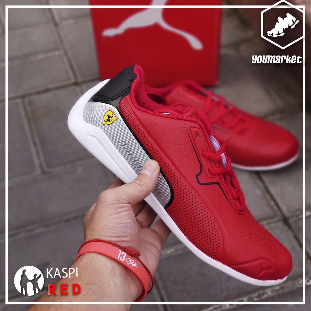 """Кроссовки Puma Ferrari """"Red Cat"""" - фото 2"""