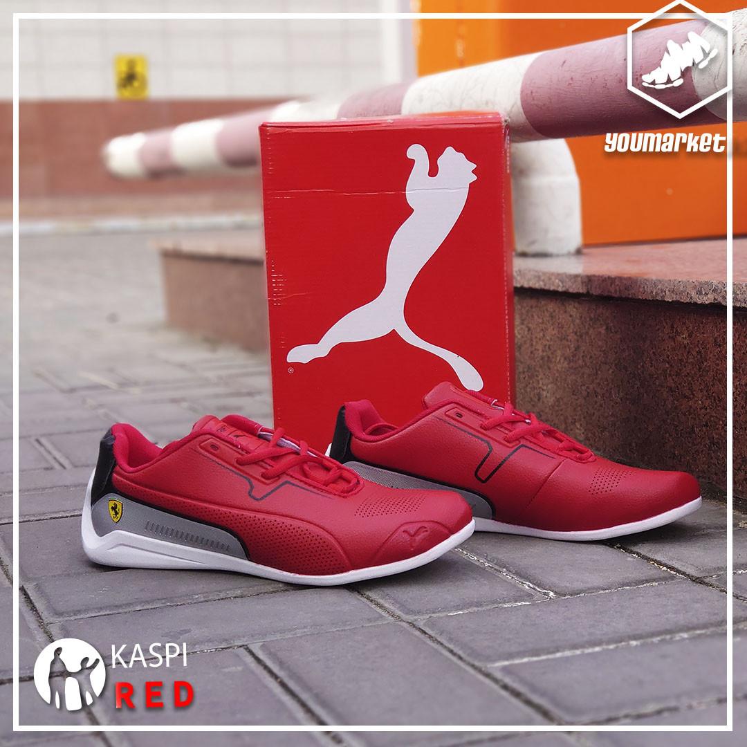 """Кроссовки Puma Ferrari """"Red Cat"""" - фото 3"""