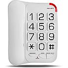Телефон проводной Texet TX-201 (White)