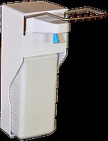 Дозатор локтевой настенный с емкостью на 1 литр
