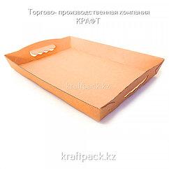 Картонный поднос 360x260x45 Eco Serv (10/60)