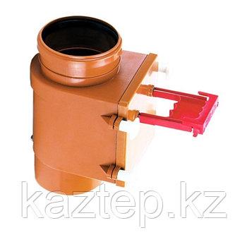 HL 710.1V Вертикальный канализационный затвор (с фиксатором) DN110